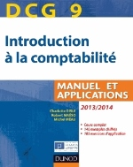 INTRODUCTION A LA COMPTABILITE  DCG9  2013/